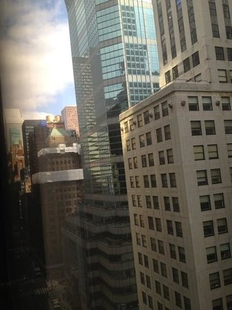 Grand Hyatt New York:                   view from room 2117