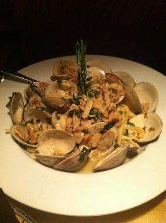 Roma Ristorante - Allentown :                   linguine and clams W/ white sauce