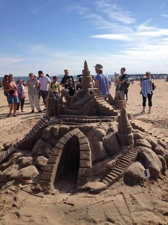 Malecon House:                   Coney Island sandcastle contest