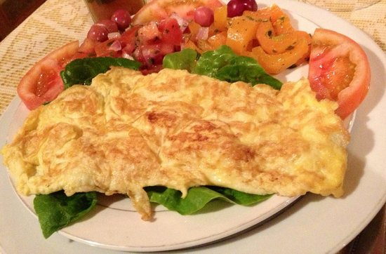 RESTAURANT BOUAYAD :                   Cheese omelette, delicious!