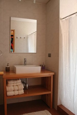 Casa Solcor Boutique Bed & Breakfast: Baño en suite.