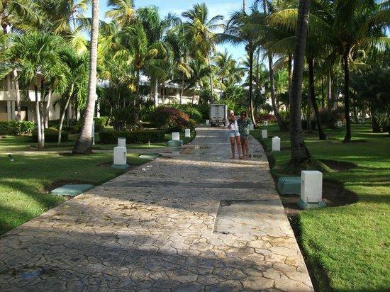 Paradisus Punta Cana Resort:                                                       GARDENS