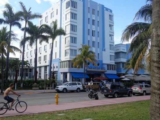The Park Central:                   Park Central - a classy art deco hotel in South Beach, Miami