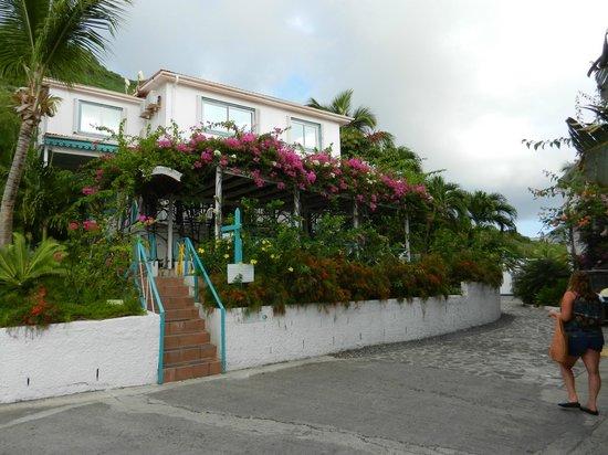 Grand Case Beach Club:                   Hotel check-in area