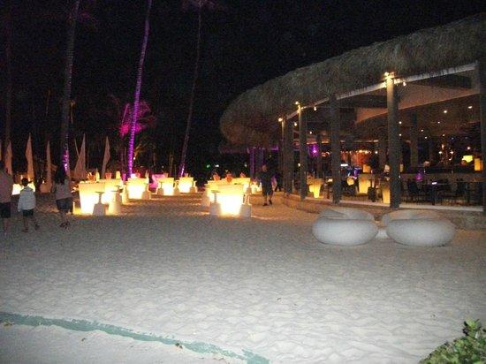 Paradisus Punta Cana:                                                       GABI BEACH RESTAURANT