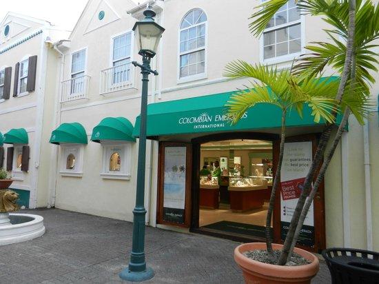 Grand Case Beach Club:                   Columbian Emeralds Dutch side friendly staff nice jewelry