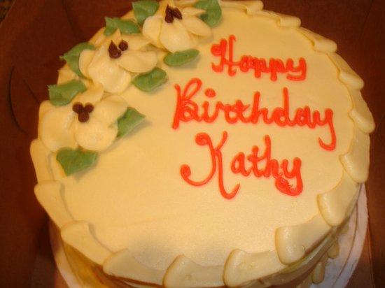 Patty Cakes Bakery: my birthday cake-from Patty cakes