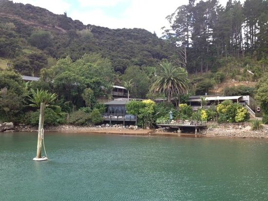 first view of kingfish lodge
