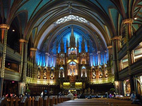 Chapelle Notre-Dame-de-Bonsecours : Interior of Notre Dame de Bonsecours