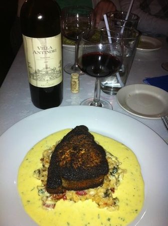 A Touch of Garlic: Great swordfish and Wine
