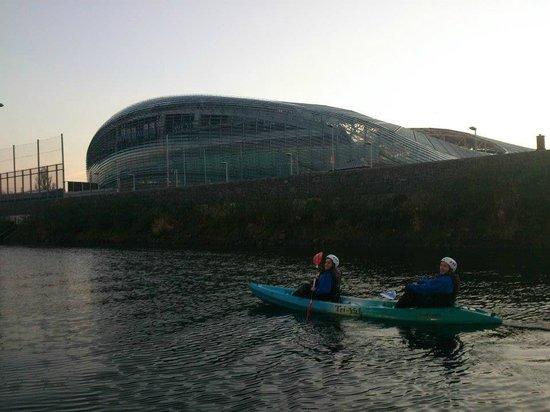 City Kayaking:                   Lansdowne/Aviva Stadium