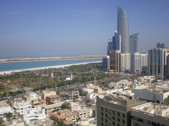 Sheraton Khalidiya Hotel:                   view from rooftop pool