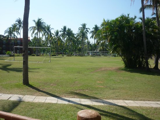 Club Med Ixtapa Pacific:                   The Soccer Field