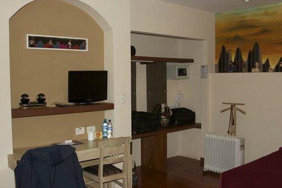 Hotel Rosario La Paz:                   Room view 1