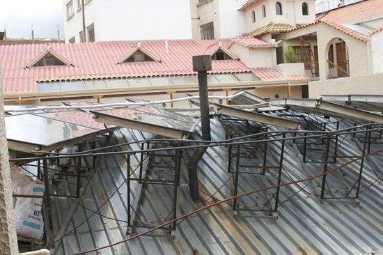Hotel Rosario La Paz:                   Solar Power