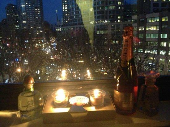 Empire Hotel: View