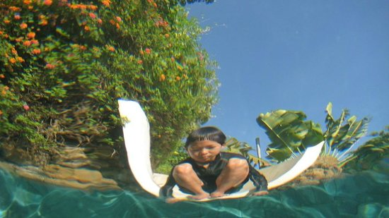 Bloo Lagoon Village:                   楽しいプール