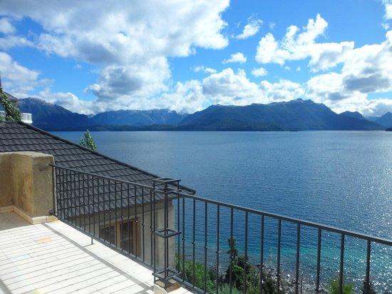 Luma Casa de Montana :                   Balcon de la habitacion Mirador
