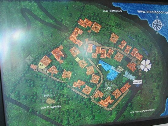 Bloo Lagoon Village:                   全体図