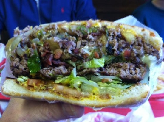 Lincoln County Grill:                   The best cheeseburger ever created.
