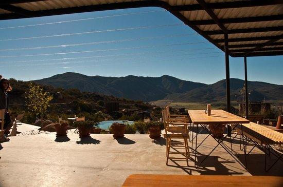 Encuentro Guadalupe: Pool area