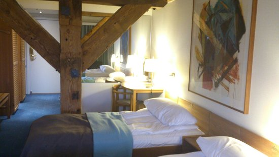 Copenhagen Admiral Hotel:                   Inside our room (310)