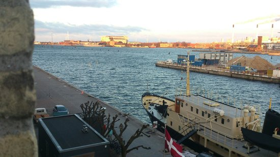 Copenhagen Admiral Hotel:                   View from our room (310)
