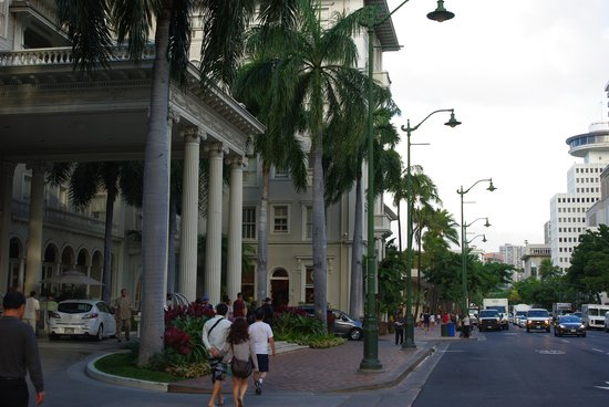 Moana Surfrider, A Westin Resort & Spa:                   ホテル