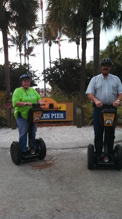 Segway Tours of Naples :                   Everyone should do this! Have Shawn for a guide!