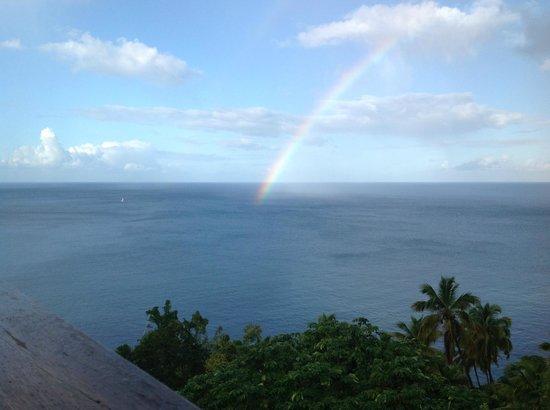 Stonefield Villa Resort:                   Many rainbows here