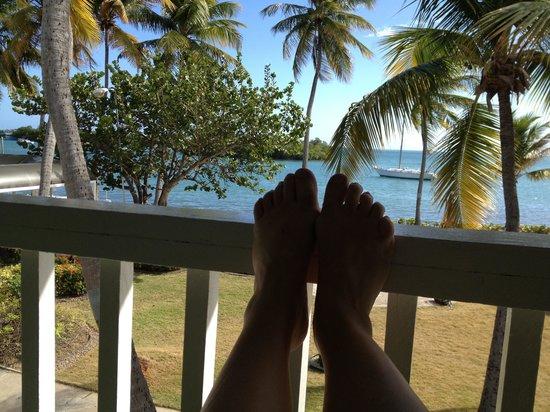 Ocean Front Hotel & Restaurant:                   Relaxing