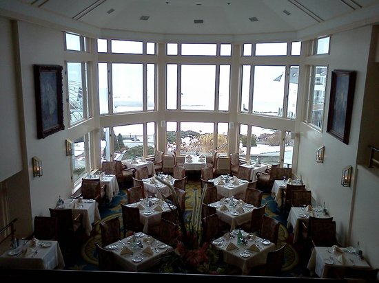 The Restaurant at Water's Edge:                   The dining room at The Water's Edge