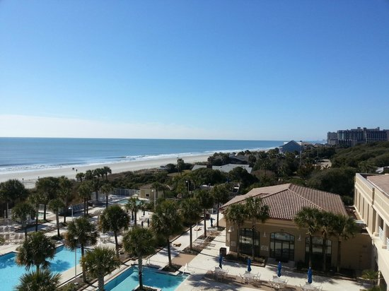 Marriott Resort at Grande Dunes Myrtle Beach:                   View from room