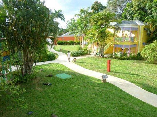 Grand Pineapple Beach Negril:                   GP Garden side area