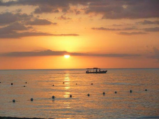 Grand Pineapple Beach Negril:                   GP sunset