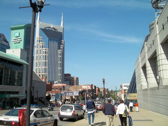 Bridgestone Arena: Downtown Nashville, Tn