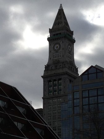 Marriott Vacation Club Pulse at Custom House, Boston: The clock tower at the top of the Custom's House
