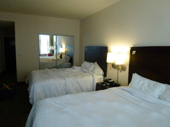 Hampton Inn & Suites Baltimore Inner Harbor:                   the most comfy beds. awww
