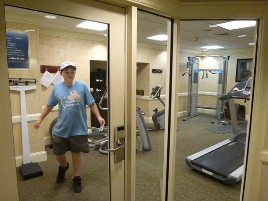 ‪‪Hampton Inn & Suites Baltimore Inner Harbor‬:                   fitness centre could be improved