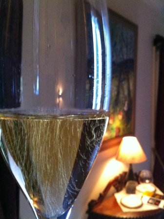 The Birches Luxury Spa Chalets:                   Love French Champagne