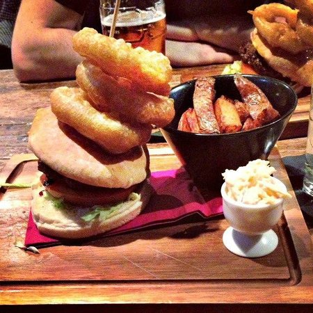 99 Bar Kitchen Ultimate Burger