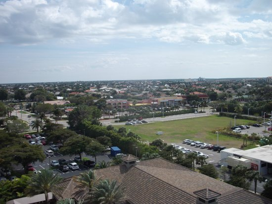 Hilton Marco Island Beach Resort--CLOSED FOR RENOVATIONS; REOPENING DEC. 1, 2017:                   View of the city from our 10th floor room