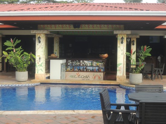 Volcano Lodge & Springs: Swim up bar