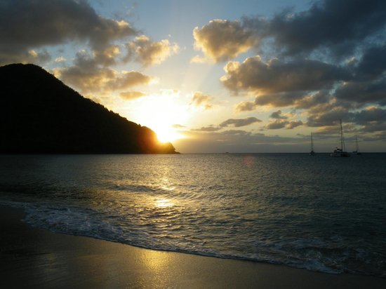 St. Lucian by Rex Resorts:                   Sunset from Rex St. Lucian
