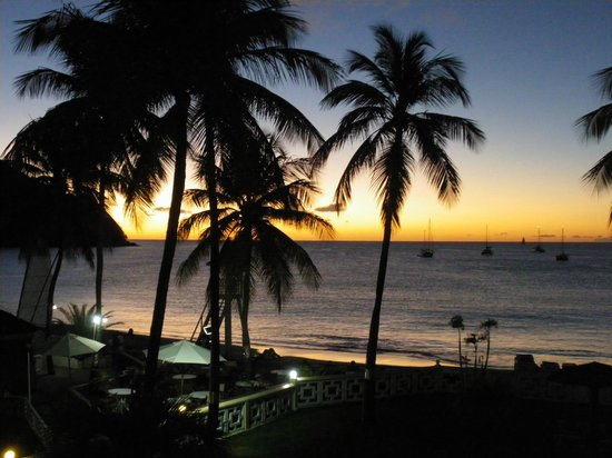 St. Lucian by Rex Resorts:                   Sunset from room