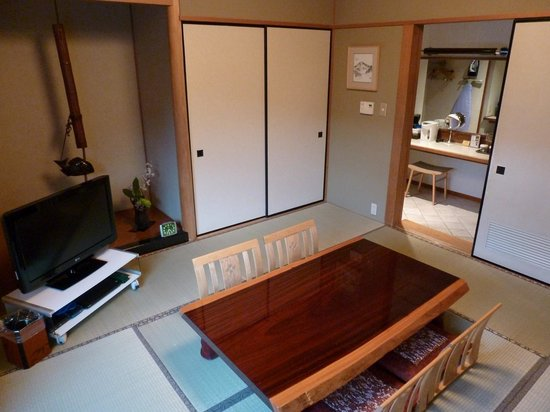 New Sanno Hotel: japanese suite with traditional tatami mat flooring