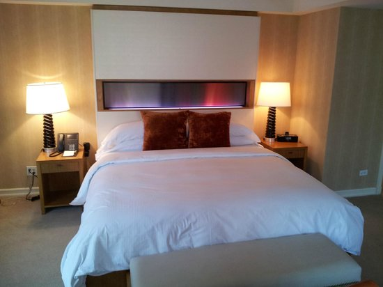 JW Marriott Essex House New York:                                     Comfortable King Size bed