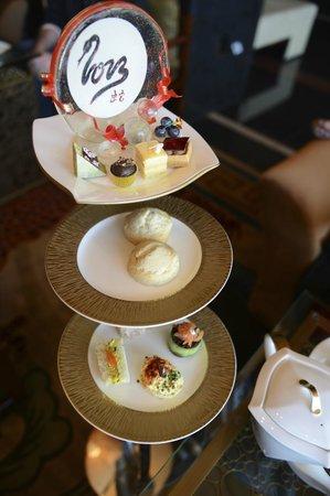 Mandarin Oriental, Las Vegas: Tea Time spread