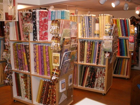 Knight's Quilt Shop :                   Some of their fabrics