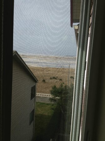 Seaside Oceanfront Inn:                                     View from jacuzzi